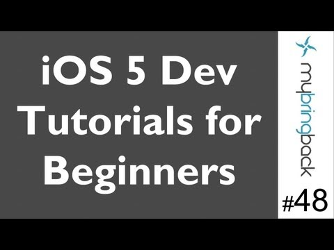 Learn Xcode 4.2 Tutorial iOS iPad iPhone 1.48 Segmented Control and Label pt2