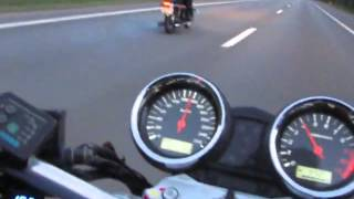 getlinkyoutube.com-Suzuki GSX 1400 and CZ 350-472.6 top speed