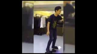 getlinkyoutube.com-Darren Espanto Random Videos using HoverBoard Scooter (09-01-2015)