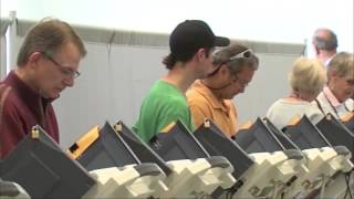 Habitantes de Kansas City, Missouri salieron a votar