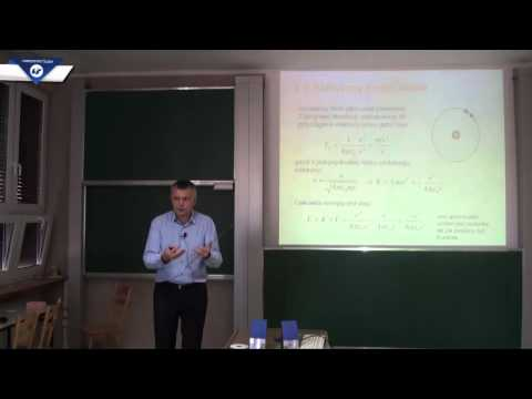 Prof. Marek Szopa: Model atomu Bohra (wykład 2)