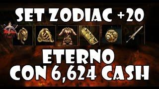 getlinkyoutube.com-RAKION - SET ZODIAC +20 ETERNO CON 6.624 CASH   RETO LV 99