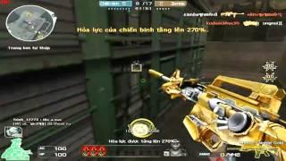 [ Bình Luận CF ] Set M4A1-S Noble Gold - Tiền Zombie v4