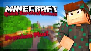 getlinkyoutube.com-Premium PLUS! ■ Minecraft: Quick Survival Games