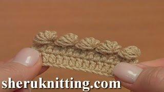 getlinkyoutube.com-Crochet Bobble Picot Tutorial 42 Part 6 of 26 Crochet For Beginners