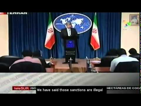Mehmanparast: EU sanctions against Iran are exerted by US