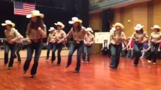 getlinkyoutube.com-Country line dance 〝Banjo