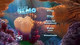 getlinkyoutube.com-Gdzie Jest Nemo (Finding Nemo) Disc 1 DVD Menu