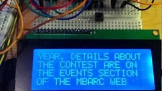getlinkyoutube.com-My Pet Arduino Copies Morse Code to an LCD Display Module