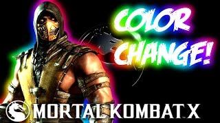 getlinkyoutube.com-Mortal Kombat X: How to Change Character Colors!