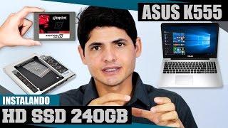 getlinkyoutube.com-Notebook ASUS K555LB || Como Instalar o SSD