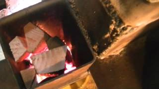 getlinkyoutube.com-The Omega Stove Making Heat!