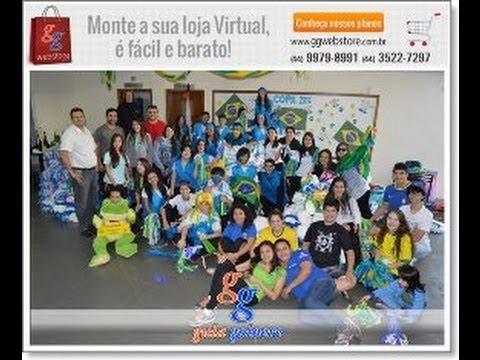 Colégio Novo Mundo - Projeto Gincana da Copa 2014 - Agência Guia Goioerê