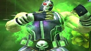 getlinkyoutube.com-Injustice: Gods Among Us - Luchador Bane Super Attack Moves [iPad] [REMASTERED]