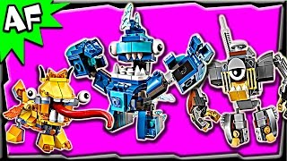 Lego Mixels MAX Series 5: Lixers, Frosticons, Klinkers Stop Motion Build Review
