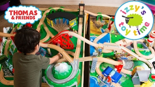 getlinkyoutube.com-Thomas and Friends | Thomas Train Double Table with Trackmaster | Fun Toy Trains for Kids