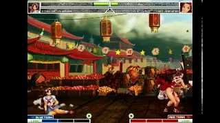 getlinkyoutube.com-MUGEN KOF Athena Asamiya Vs Mai Shiranui