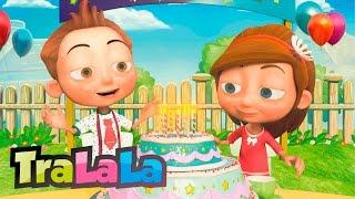 getlinkyoutube.com-Mulți ani trăiască (pentru orice petrecere) - Cântece pentru copii | TraLaLa