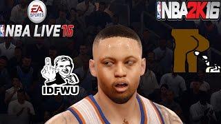 getlinkyoutube.com-NBA Live 16 Rising Star - BOTH GAMES SUCKS