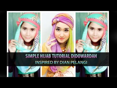 Simple Hijab Tutorial Didowardah for Ramadhan Inspired by Dian Pelangi | Pashmina Hijab #43