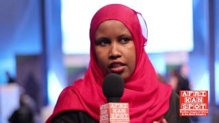Mandela Washington Fellow Fouzia Dahir talks about leadership and the U.S. Africa Summit