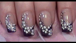 getlinkyoutube.com-Lila Blümchen Nageldesign zum selber machen mit Nagellack / Purple Flower Nail Art Design