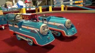 12 Custom Trackmaster Thomas Trains8/Test Run