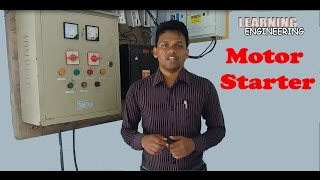 Motor starter│ 3 phase motor starter│ Learning Engineering│