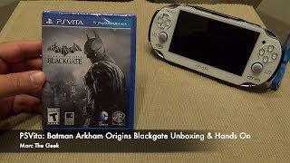 getlinkyoutube.com-PSVita: Batman Arkham Origins Blackgate Unboxing & Hands On
