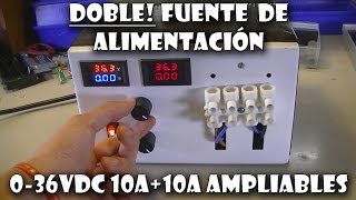 getlinkyoutube.com-DOBLE FUENTE A. VARIABLE 1,25-36VDC 10A o mas!