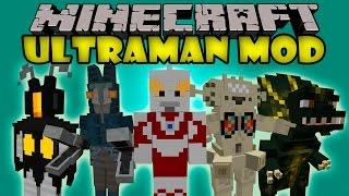 getlinkyoutube.com-ULTRAMAN MOD - Bosses enormes Con mas de 10 000 de Vida - Minecraft mod 1.7.2 Review ESPAÑOL