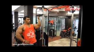 getlinkyoutube.com-ARMS WORKOUT WITH SANGRAM CHOUGULE ON JERAI FITNESS EQUIPMENT