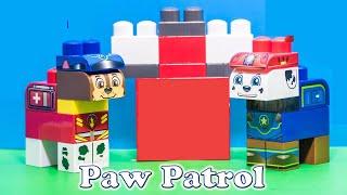 getlinkyoutube.com-PAW PATROL Nickelodeon Paw Patrol Ionix Jr Fireman Marshall Toys Video Unboxing