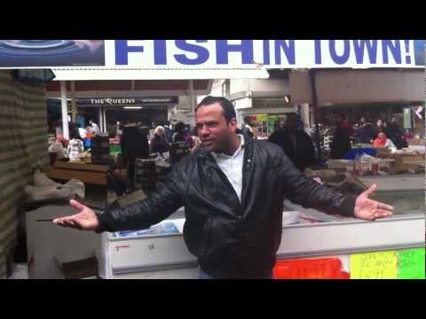 One 1 Pound Fish, Queens Market, Upton Park, London E13