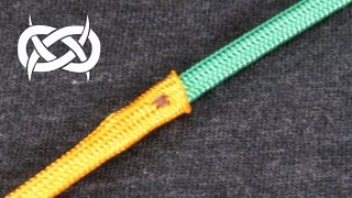 getlinkyoutube.com-How to Join or Splice Paracord with the Sleeve and Stitch Method Tutorial (Paracord 101)