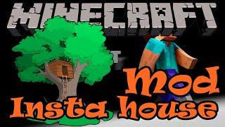 getlinkyoutube.com-Minecraft รีวิว Mod Insta House : บ้านพกพา ไปไหนก็ได้