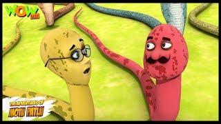 Saanpon Ka Hungama   Motu Patlu In Hindi   3D Animation Cartoon   As On Nickelodeon
