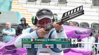 getlinkyoutube.com-Finals Double Trap Men - ISSF World Cup in all events 2012, London (GBR)