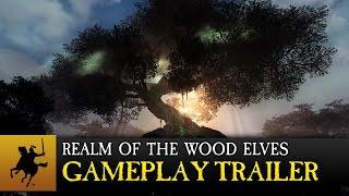 Total War: WARHAMMER - Realm of The Wood Elves Játékmenet Trailer