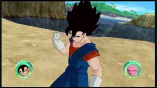 getlinkyoutube.com-Dragon Ball Raging Blast: Transformaciones y Fuciones! + Imagen Adicional (Gohan vs Broly)