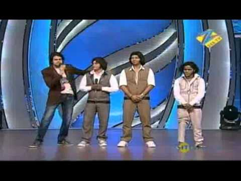 Dance Ke Superstars April 22 '11 - Puneet, Kishore &amp; Parvez