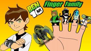 getlinkyoutube.com-Ben 10 Finger Family: Daddy Finger Nursery Rhymes Full HD