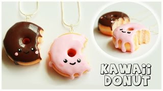 getlinkyoutube.com-polymer clay Kawaii Donut/Doughnut TUTORIAL