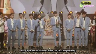 getlinkyoutube.com-[ENG] 160121 Golden Disc Awards 2016 EXO full cut