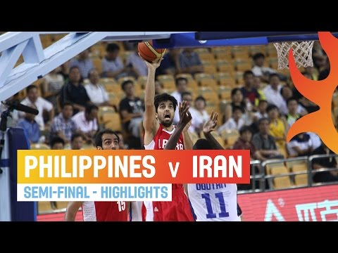 Philippines v Iran - Highlights Semi-Final - 2014 FIBA Asia Cup