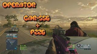 getlinkyoutube.com-Battlefield Hardline - CAR-556 + P226 - Operator - Gameplay