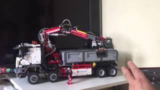 getlinkyoutube.com-LEGO Technic 42043 Mercedes-Benz Arocs 3245 FULL RC