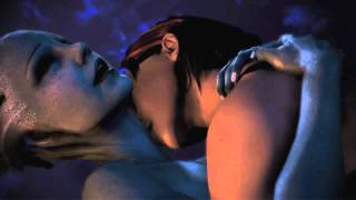 getlinkyoutube.com-Mass Effect 3 - Liara FemShep Romance Scene