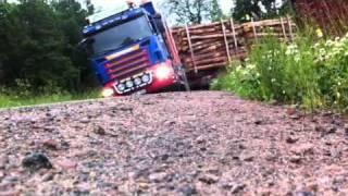 getlinkyoutube.com-Scania R620 timmerbil