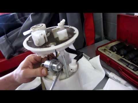 Как поменять топливный фильтр на киа серато kia cerato